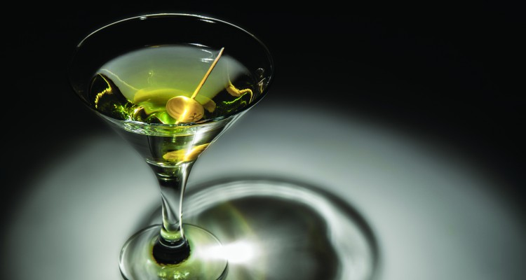 27545957 - photo of a glass of martini